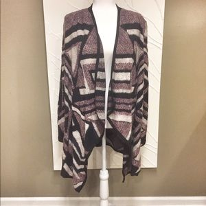 NWT Lucky Brand Open Front Cardi